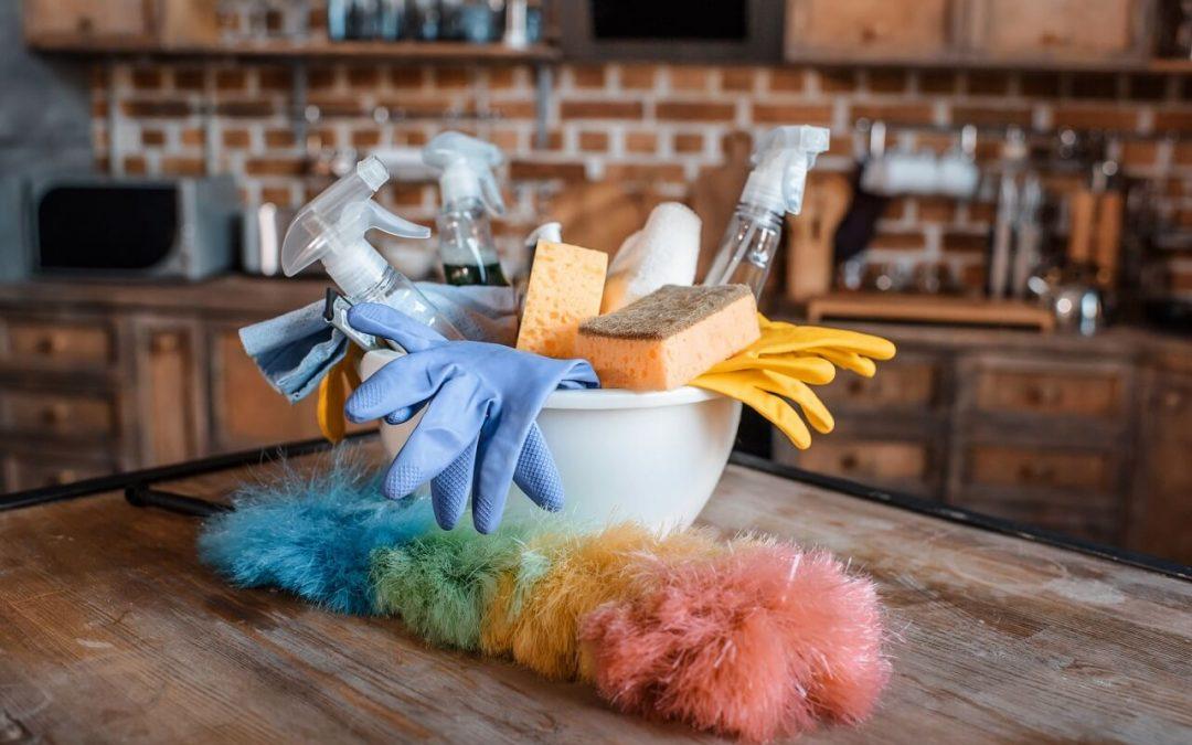 improve indoor air quality by using natural cleaning products